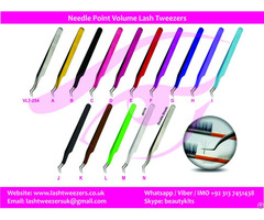 Needle Point Volume Lash Tweezers