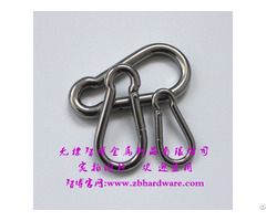 Hot Sale Ss 316 Steel Snap Hook With Eyelet And Screw