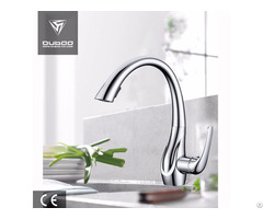 Chromed Finished Pull Out Kitchen Faucet