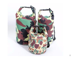 10l 20l Water Resistent Bags Waterproof Floating Dry Bag With Camo Color