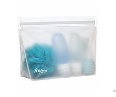 Re Zip Seal Peva Reusable Ziplock Bag For Multi Purpose Cosmetic Food Gadget Storage