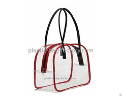 Deluxe Transparent Multi Purpose Pvc Tote Beach Bag Vinyl Toiletry Pouch Makeup Sack