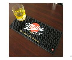 The New Design Wholesale Soft Pvc Customized Logo Bar Mat