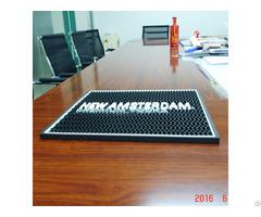 Custom Branded 100% Rubber Beer Bar Mat With Logo