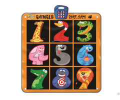 Animals Dart Game Playmat Slw9786