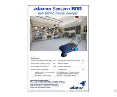 Alano Sensero 800 Manual Sweeper