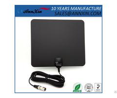 China Supplier Flat Design Hdtv Digital Indoor Tv Antenna For Wholesale