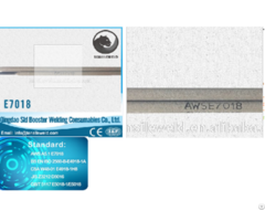 Low Hydrogen Potassium Type Welding Electrode Aws A5 1 E7018