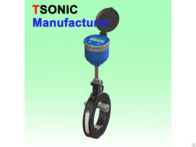 Sandwich Battery Powered Irrigation Ultrasonic Water Meter
