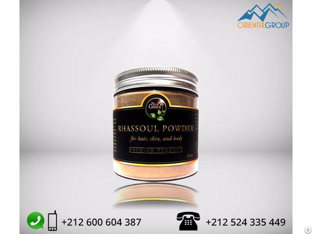 Moroccan Lava Clay Ghassoul Rhassoul Powder