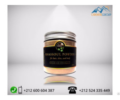 Moroccan Lava Clay Ghassoul Rhassoul Powder