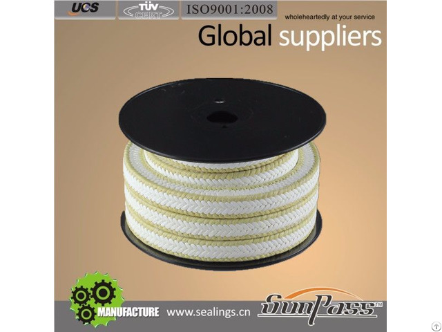 Ptfe And Kevlar Gland Packing