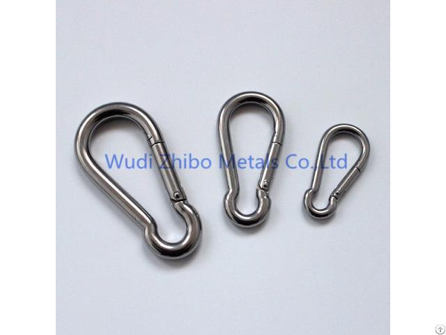 Stainless Steel Baby Stroller Snap Hook