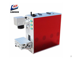 Portable Metal Engraving Fiber Laser Marking Machines With Ce Fda