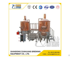 Red Copper Micro Brew House For 2017 Hot Sale
