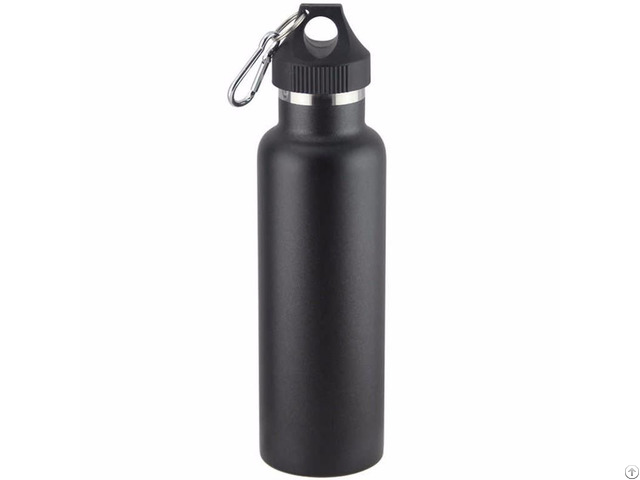 Zc Hh Q Insulated Double Wall 600ml Stainless Steel Standard Mouth Adventure Water Bottle Multicolor