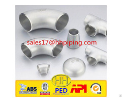 Hh High Quality Abs Iso Ped Stainless Steel Pipe Fittings