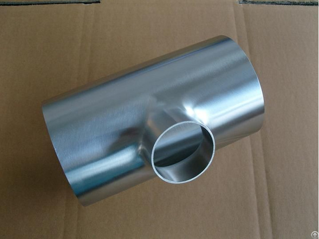Polished Sanitary Stainless Steel Tee