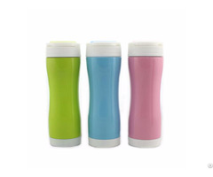 Zc Cf G Vacuum Insulation Bottom Sleeve Stainless Steel Multi Function Coffe Mug 420ml Car Cup