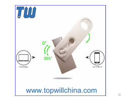 Oem Odm Usb 3 1 Type C Pen Drive Key Ring Design Fast Delivery