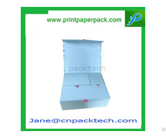 Custom Coated Rigid Paper Gift Packaging Box
