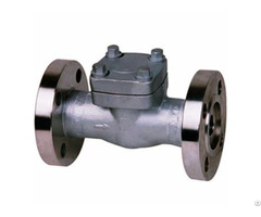 Api 602 Forged Swing Lift Flanged Check Valve