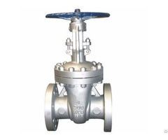 Asme B16 34 Class 300 Lb Cast Steel Gate Valve Flanged Ends