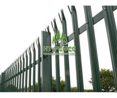 D Pale Palisade Fence