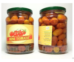 Canned Natural Cherry Young Tomato