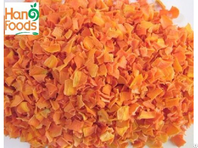 Dried Delicious Carrot Coins Granule