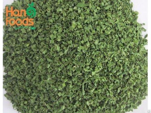 Dried Green Onion Leaves Cut