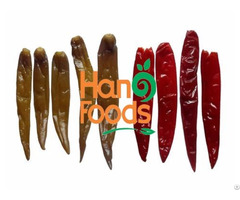 Salted Red Green Chili