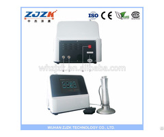Zjzk Offer High Frequency Operation Sw5s Shockwave Therapy Machine For Sports Injury And Joints Pain