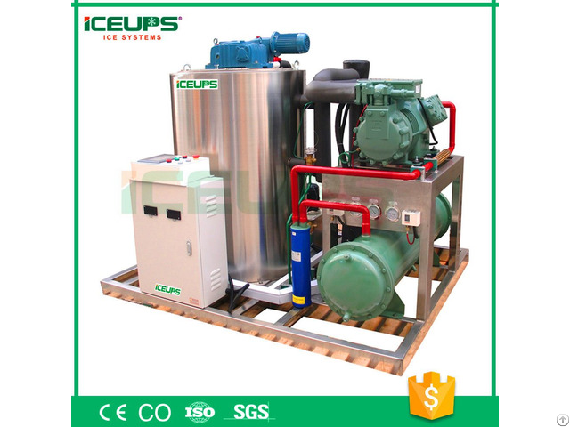 Industrial Flake Ice Machine With Capacity 5ton 24h
