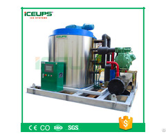 Industrial Flake Ice Machine With Capacity 10ton 24h