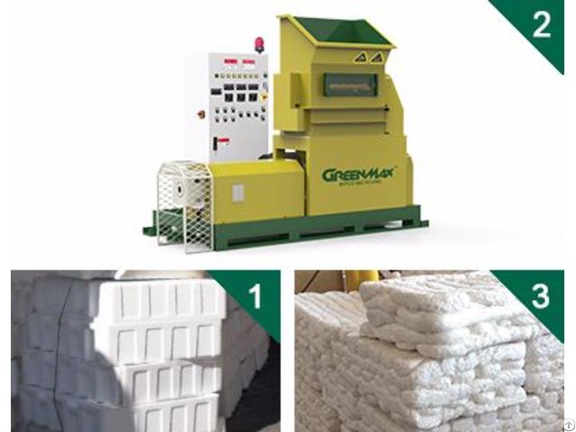 Plastics Foam Melting Machine Of Greenmax Mars Series