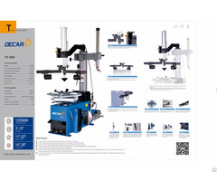 Tc950 Ce Certificated And Iso Used Tire Changer Machine