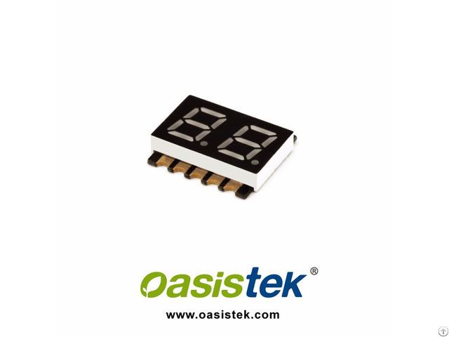 Oasistek 7 Segment Led Smd Display Tod F2281