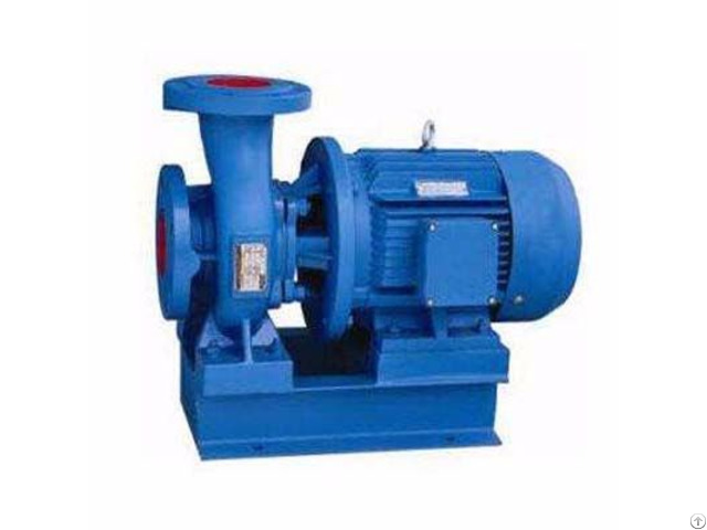 Horizontal Single Stage Suction Centrifugal Pump Cast Iron Stainless Steel