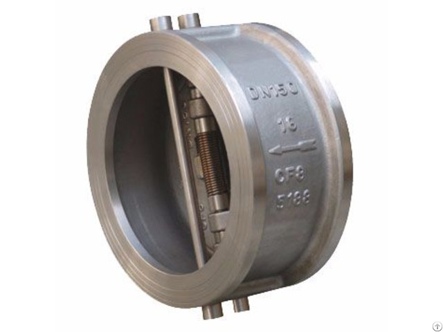 Dual Plate Check Valve Stainless Carbon Steel