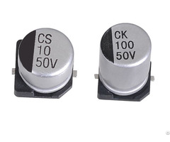 Jcc Smd Aluminum Electrolytic Capacitors 2000 Hrs At 85 C