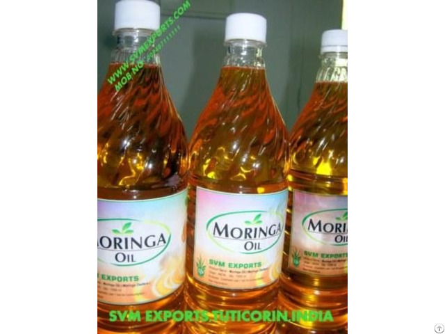 100% Natural Moringa Seed Oil Suppliers