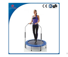 Createfun 54 Inch Adult Spring Trampoline With Handle For Sale