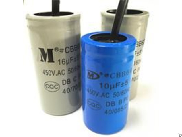 Cbb60 Motor Run Capacitor For Water Pump