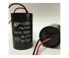 Cbb60 Motor Run Capacitor For Washing Machine