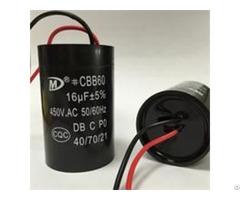 Cbb60 Motor Run Capacitor For Washing Machine