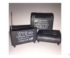 Ac Tin Caoted Copper Clad Steel Wire Cbb61 Capacitor With Newly Design