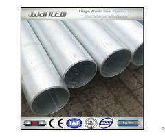 En 10255 Astm A53 Galvanized Steel Pipe