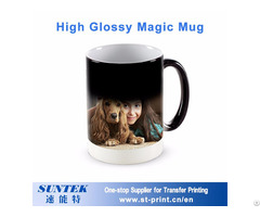 11oz Ceramic Color Changing Coffee Cup High Quality 3d Sublimation Mug