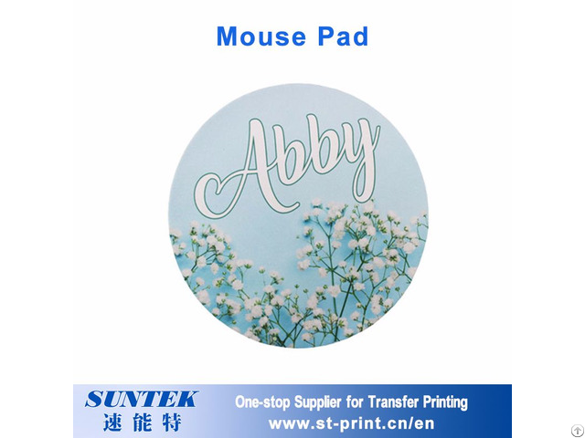 Sublimation Rectangle Heart Round Shaped Game Mouse Pad For Sale